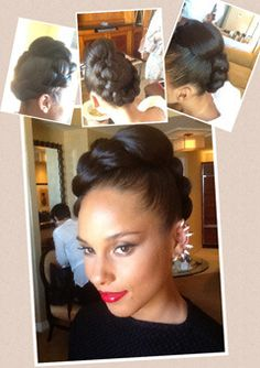 Get the Look: Alicia Keys' Braided Updo from the Billboard Awards