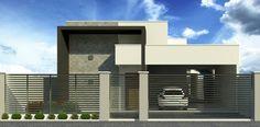 atanio - telhado embutido fachada