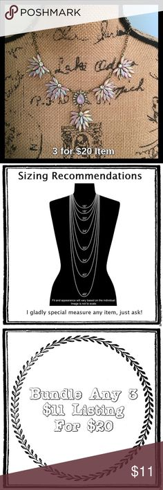 """Iridescent Gem Statement Necklace Price is firm unless bundled. Comes in boutique packaging and box. 16"""" long with 3"""" extender clasp. Jewelry Necklaces"""