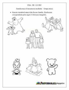 Fisă de lucru Preschool Worksheets, Preschool Activities, Montessori, Diy And Crafts, Kindergarten, Letters, Comics, Kids, Google