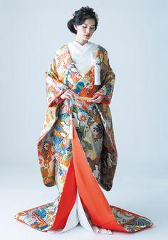 和装   ドレス&アイテム   《公式》式場探しならワールドウェディング Japanese Wedding Kimono, Traditional Clothes, Geisha, Pose, Style, Fashion, Kimonos, Swag, Moda