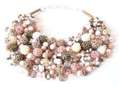 kama4you 3446 necklace crocheted