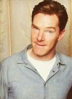 """Benedict Cumberbatch biting his lip makes me weak in the knees."""