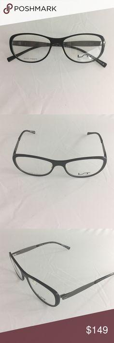 539b6089e2d6 Brand NEW LIGHTEC MOREL Women s Eyeglass Frames Brand NEW Made in France  LIGHTEC MOREL Black Metal