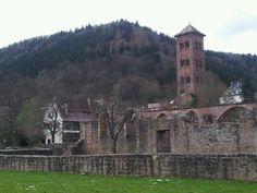 Ruinen Kloster Hirsau, April 2015