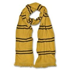 Authentic Hufflepuff™ Scarf | Accessories | Warner Bros Studio Tour London