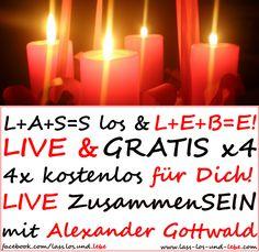 LIVE & GRATIS für Dich: Deine Advents-ZusammenSEINs mit Dir