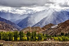 Chemrey Gompa, Leh. The land of mist and magic! shed off the stresses of mind and attain peace of mind here.