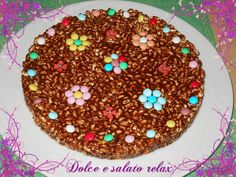 TORTA AL CIOCCOLATO DI RISO SOFFIATO <3 #dolceesalatorelax #homemade #cook #cake #lemaddine