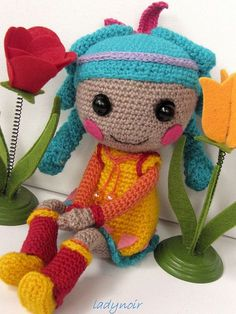 Crochet Feather Tell A Tale Lalaloopsy