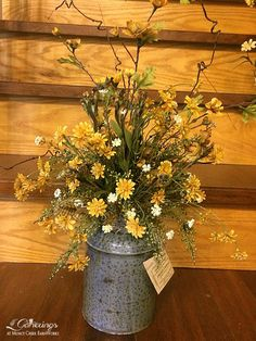 Arrangement resulting from my antiquing adventure | from Gatherings at Muncy Creek BarnWorks