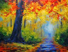 As mais belas pinturas de paisagem pintada por Graham Gercken