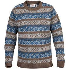 Mens Övik Folk Knit Sweater