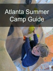 Atlanta Summer Camp Guide is an online searchable database of day and sleep away camps in and near Atlanta. It's your ultimate summer camp guide! via @FieldTripswSue
