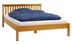 Ágykeret SILKEBORG 160x200cm tölgy