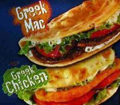 Greek Mac & Greek Chicken, Greece