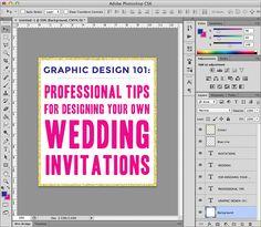 Graphic Design 101: Understanding Layout | A Practical Wedding