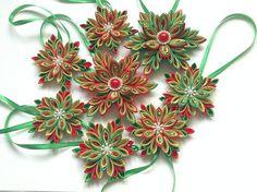 Sada vianočných hviezd na stromček