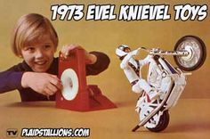 Evel Knievel wheelie bike