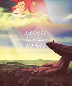 this is the part where i start sobbing because i just love lion king so much