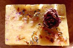 DIY Perfume w/o chemicals or synthetics!  To make a perfume take some rose water and wash your hands in it, then take a lavender flower and rub it with your palms, and you will achieve the desired effect  Leonardo da Vinci  This combination is excellent for skin, circulation, shock,and regenerates cells from wounds quickly!  Or use Shepherds Heart Lavender Rose Kinder Goat Milk Soap   http://www.kindergoatsoaps.com/product/lavender-rose-kinder-goat-milk-soap/