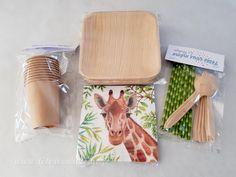Serviettes Girafe • Boutique Fêtes vous même