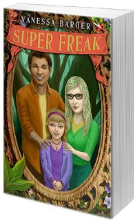 Kelly P's Blog: Official Blog Tour: Super Freak by Vanessa Barger with Giveaway