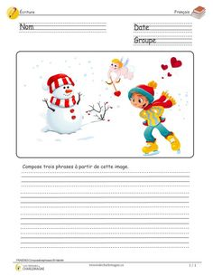 French Worksheets, Primary Activities, Beginning Of Year, French Classroom, French Resources, Writing Strategies, French Immersion, French Lessons, Teaching French