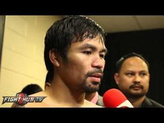"Manny Pacquiao ""If I miss boxing I can come back!"" Talks mayweather rema..."