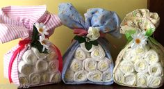 Stork Bundles Baby Diaper Gifts for Baby Showers  Boy, Girl, Neutral Gender