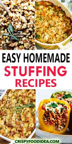 The Stuffing Recipe is the easiest way to save your time, so easy to make at home in crockpot or instant pot or stove top. These recipes are made with vegetables, herbs, breads, onion, mushroom etc, this stuffing is the perfect addition to your holiday dinner table! #stuffing #sidedish #thanksgivingrecipes #healthyrecipes #cleaneating #homemade #crockpotrecipes