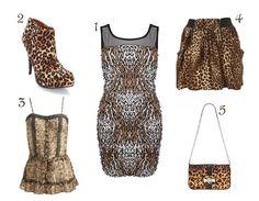 Leopard & cheetah print clothes.