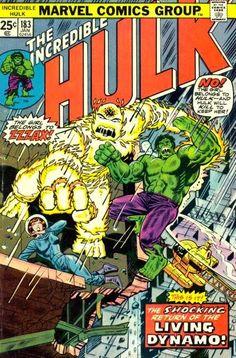 Incredible Hulk #183. Zzzax is back.