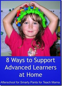 Ways to Support Advanced Learners at Home | guest post on @Amy Lyons mascott @amy mascott @teachmama by @Natalie Jost @Don Lehman for Smarty Pants #weteach