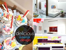 Delightful Interior Style Featuring Candy Colors And Bold Shapes - http://www.dreamhomedecoration.com/dream-interior-designs/delightful-interior-style-featuring-candy-colors-and-bold-shapes/