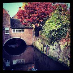 Autumn in 's-Hertogenbosch, The Netherlands.