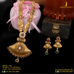 Gold 916 Premium Design Get in touch with us on Gold Bangles Design, Gold Jewellery Design, Gold Jewelry, Gold Necklace, Lehenga Gown, Gold Mangalsutra, Jewelry Design Earrings, Indian Wedding Jewelry, Sd