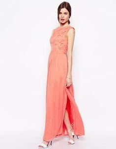 Image 1 ofASOS Gothic Maxi Dress