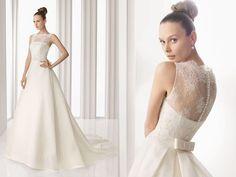 vestidos de noiva de renda   foto-imagem-vestido-de-noiva-renda-costas-rosa-clara