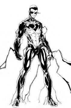 Comic book character lightning bolt