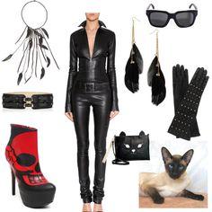 Catwoman or Emma Peel? MEEEEOOOOWWWW! Call me Cat Woman!!