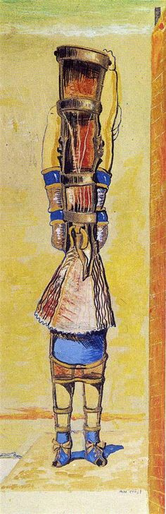 The Young Chimaera, 1920 Max Ernst - WikiArt.org