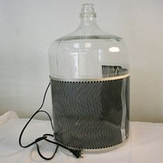 Electric Fermentation Heater used to help regulate fermentation temperature. Can be used with glass, plastic or steel fermenters. Use in conjunction with a temperature controller to dial in ferme…