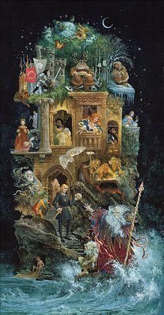 James Christensen - Shakespearean Fantasy