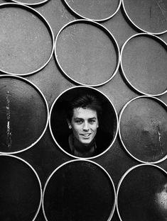 Alain Delon in New York, 1958