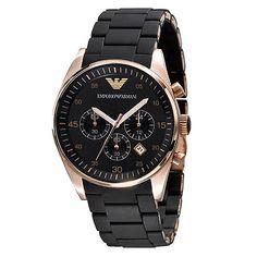 Emporio Armani AR5905 Reloj de cuarzo para hombre por 149 €  Este reloj #Emporio #Armani Sport de hombre es elegante y #deportivo. La perfecta combinación de tonos dorados/rosados y color #negro se encuentra con un diseño cómodo para un look casual. El reloj Emporio Armani Sport es tanto funcional como #elegante.   #armani #chollos #moda #ofertas #Reloj