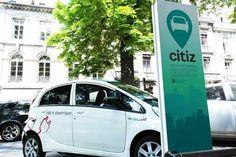 CITIZ. Besançon propose un dispositif de véhicules (y compris électriques) en libre service. http://www.besancon.fr/index.php?p=1150