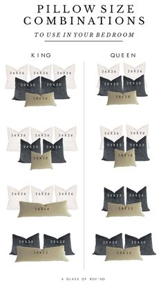 Home Decor Scandinavian Pillow Talk: My Go-To Methods For Styling A Bed & 16 Bold Combinations To Use In Your Bedroom .Home Decor Scandinavian Pillow Talk: My Go-To Methods For Styling A Bed & 16 Bold Combinations To Use In Your Bedroom Master Bedroom Makeover, Bedroom Inspo, Master Bedroom Design, Master Room, Bedroom Colors, Master Bedroom Furniture Ideas, Master Bedroom Decorating Ideas, Romantic Master Bedroom Ideas, Bedroom Ideas Grey