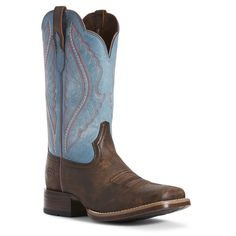 Leather lining. Horse Boots, Cowgirl Boots, Western Boots, Western Wear, Blue Boots, Black Leather Shoes, Cowgirl Style, Running Sneakers, Buy Shoes