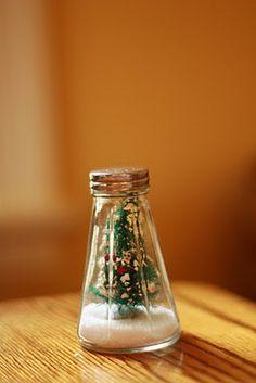 salt shaker ornament snow globe - Google Search